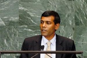 Mohamed Nasheed Photo Credit: United Nations
